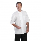 Chef Works Valais Signature Series Unisex Chefs Jacket White M