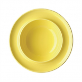 Olympia Heritage Raised Rim Bowls Yellow 205mm (Pack of 4)