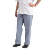 Whites Easyfit Trousers Teflon Blue Check