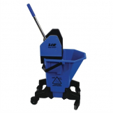SYR Long Tall Sally Mop Wringer and Bucket Blue