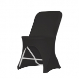 ZOWN Alex-K Side Chair Stretch Cover Black