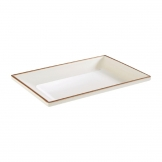 APS Lagoon Rectangular Plate 214mm