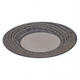Revol Arborescence Round Plate Pepper Grey 310mm (Pack of 2)