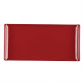 Alchemy Buffet Red Melamine Rectangular Trays 300x 145mm (Pack of 6)