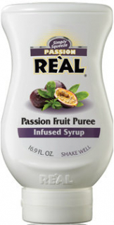 Real - Passion Fruit Puree Infused Syrup (500ml Squeezy Bottle)
