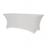 ZOWN XL150 Table Stretch Cover White