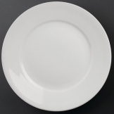 Athena Hotelware Wide Rimmed Plates 280mm (Pack of 6)