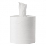 Jantex Centrefeed White Rolls 1-Ply 288m (Pack of 6)