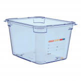 Aravan ABS Food Storage Container Blue GN 1/2 200mm