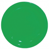 Kristallon Polycarbonate Plates Green 172mm (Pack of 12)