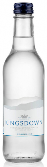 Kingsdown - Sparkling Water (24x 330ml Bottles)