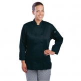 Chef Works Marbella Womens Executive Chefs Jacket Black L
