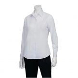 Chef Works Womens Long Sleeve Dress Shirt White 2XL