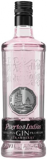 Puerto de Indias - Strawberry Gin (70cl Bottle)