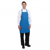 Chef Works Bib Apron Blue