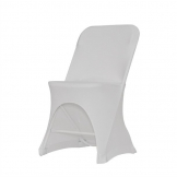 ZOWN Alex-K Side Chair Stretch Cover White