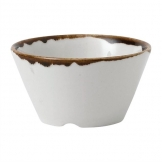 Dudson Harvest Natural Sauce Dish 80mm x 40mm (Pack of 12)