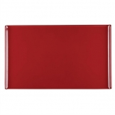Alchemy Buffet Red Melamine Rectangular Trays 530x 325mm (Pack of 2)