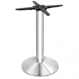 Bolero Chrome Round Tulip Table Base