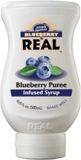 Image of Real - Blueberry Puree Infused Syrup
