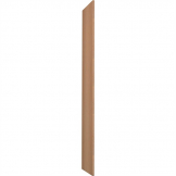 Timberbox End Panel 1780(H)mm Oak