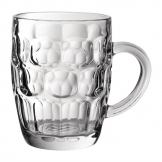 Utopia Dimple Panelled Pint Tankards 570ml (Pack of 24)