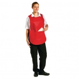 Tabard With Pocket Red Small