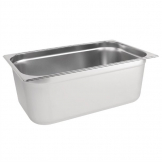 Vogue Stainless Steel 1/1 Gastronorm Pan 200mm