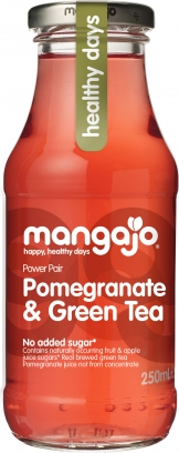Image of Mangajo - Pomegranate & Green Tea