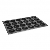 Vogue Aluminium Non-Stick Muffin Tray 24 Cup