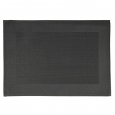 APS PVC Placemat Fine Band Frame Black