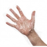 Disposable Gloves Clear