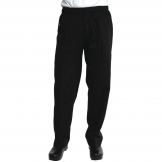 Chef Works Unisex Better Built Baggy Chefs Trousers Black 3XL