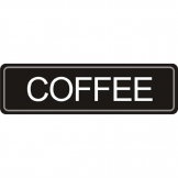 Olympia Adhesive Airpot Label - Coffee