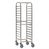 Bourgeat Patisserie Racking Trolley 15 Shelves