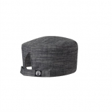 Chef Works Urban Corvallis Crosshatch Beanie Black and Steel Grey