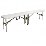 Bolero Centre Folding Bench 6ft