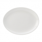 Utopia Titan Oval Plates White 240mm (Pack of 24)