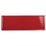 Alchemy Buffet Red Melamine Rectangular Trays 580x 200mm (Pack of 4)