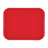 Cambro Polypropylene Fast Food Tray Red 410mm