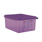 Araven Allergen Polypropylene 1/2 Gastronorm Food Container 10L
