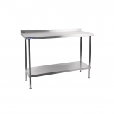 Holmes Self Assembly Stainless Steel Wall Table 600mm