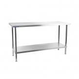 Holmes Self Assembly Stainless Steel Centre Table 1500mm
