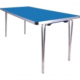 Gopak Contour Folding Table Blue 5ft