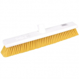 Jantex Hygiene Broom Soft Bristle Yellow 18in