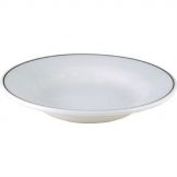 Churchill Black Line Rimmed Soup Bowls 230mm (Pack of 24)