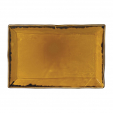 Dudson Harvest Dudson Mustard Rectangular Tray 285mm (Pack of 6)