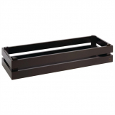 APS Superbox Buffet Crate Black GN2/4