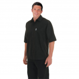 Chef Works Unisex Cool Vent Chefs Shirt Black L
