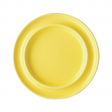 Olympia Heritage Raised Rim Plates Yellow 203mm (Pack of 4)